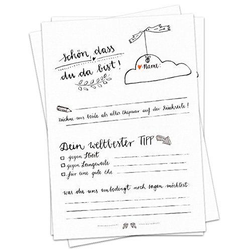 52x Schon Dass Du Da Bist Postkarten In Schwarz Weiss Im Schonen Kalligrafie Design Mit Fragen Und Zum Zei Hochzeit Spiele Hochzeitsspiele Hochzeit