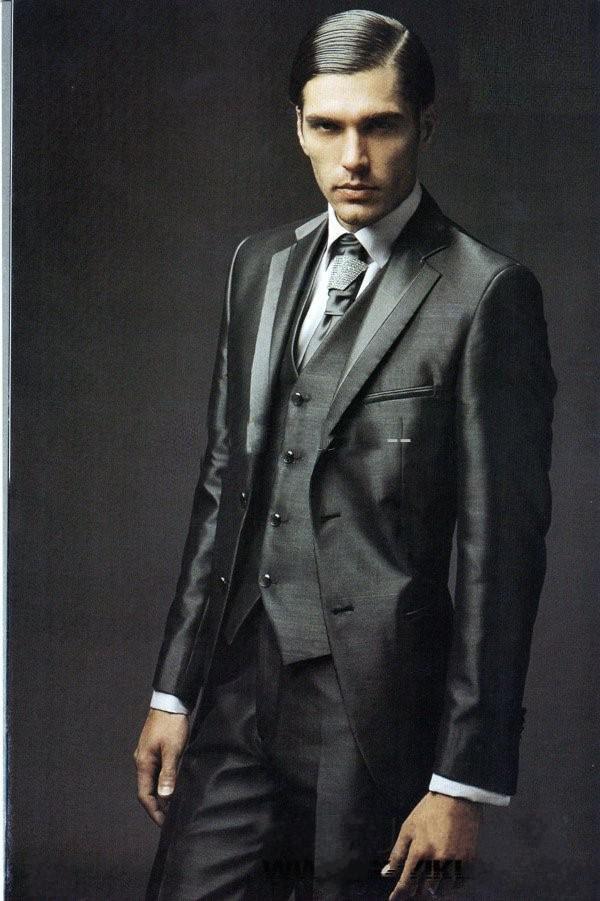 Tuxesdo Stylish Black Suit | Groom Wedding Suit | Pinterest | Black ...
