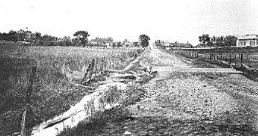 1863 Chambersburg Road Towards Seminary Ridge With Images