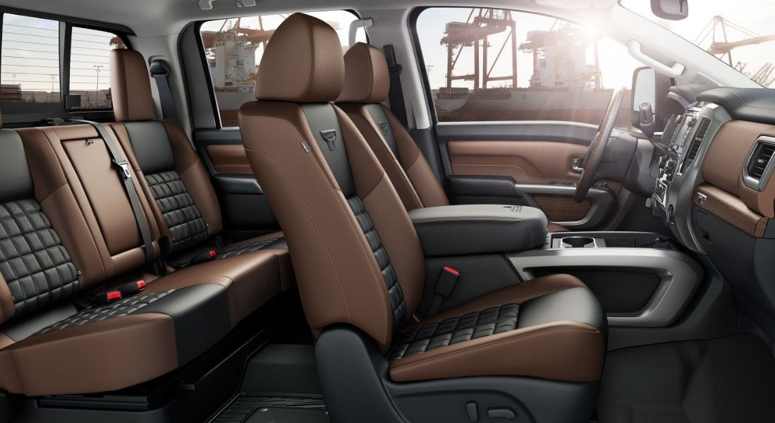 Interior 2020 Nissan Titan Nissan Titan Nissan Titan Xd Diesel Nissan Titan Xd
