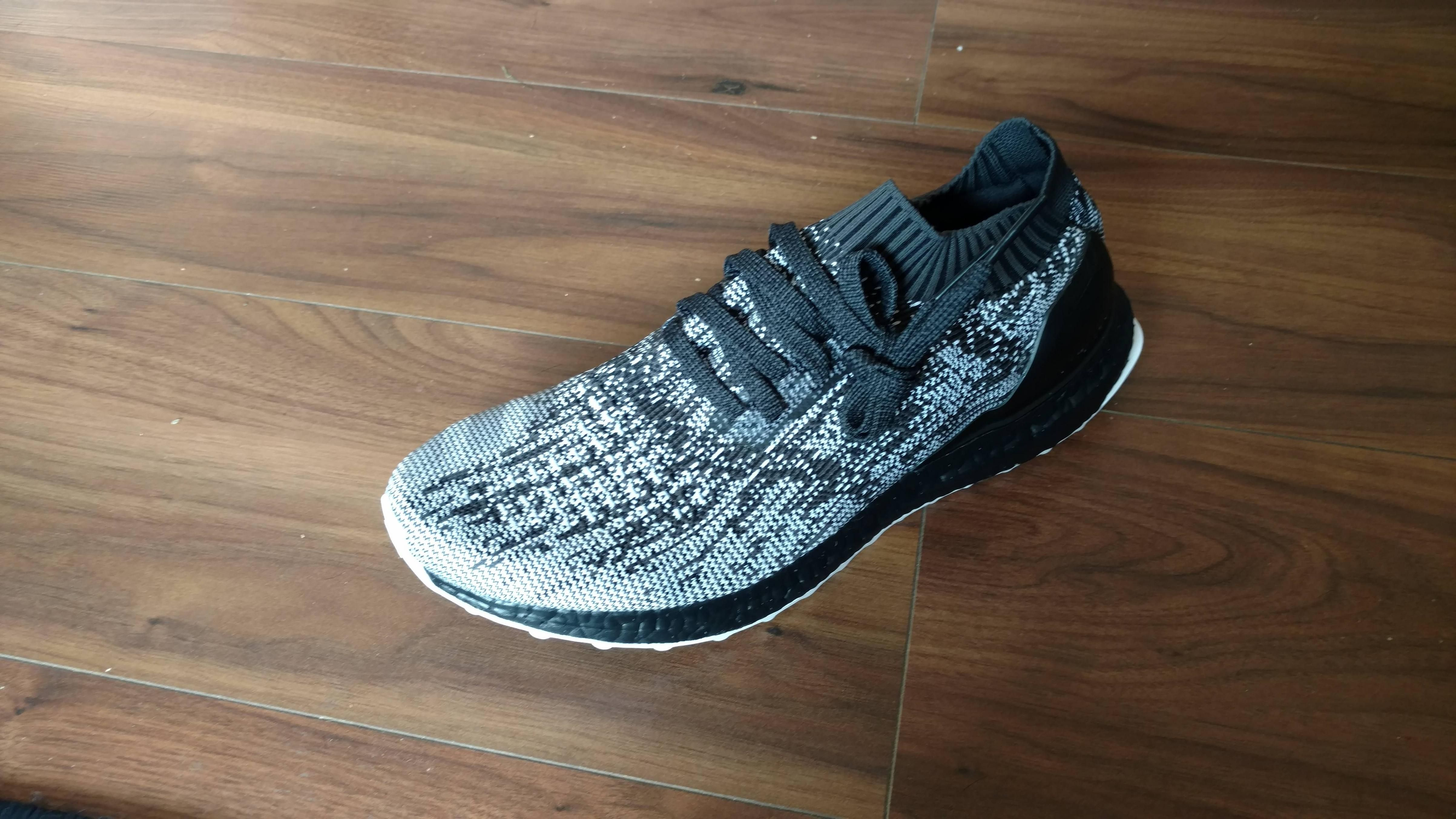 Requested guide to my Ultra Boost Uncaged alternative lacing.