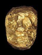 máscara felina - museu do ouro - bogotá