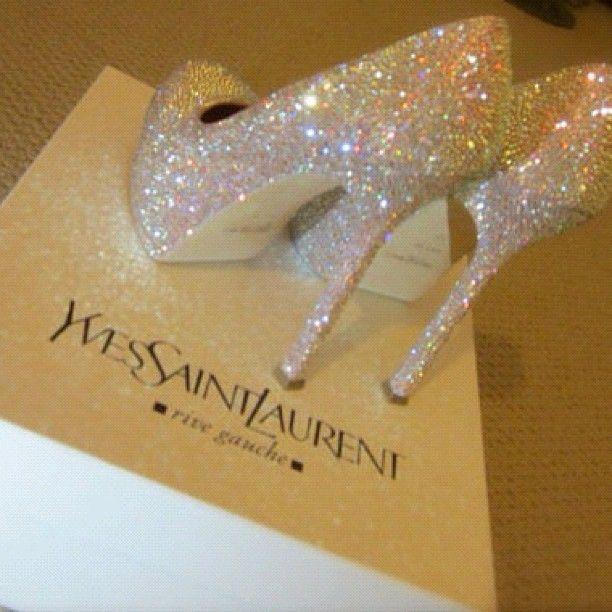 Yves Saint Laurent - Glitter High Heels