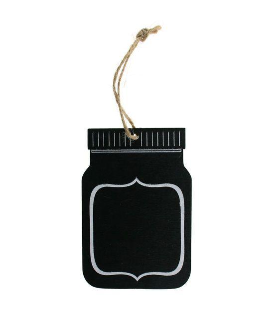 Make It Love It™  Chalkboard Plaque - Small Mason Jar