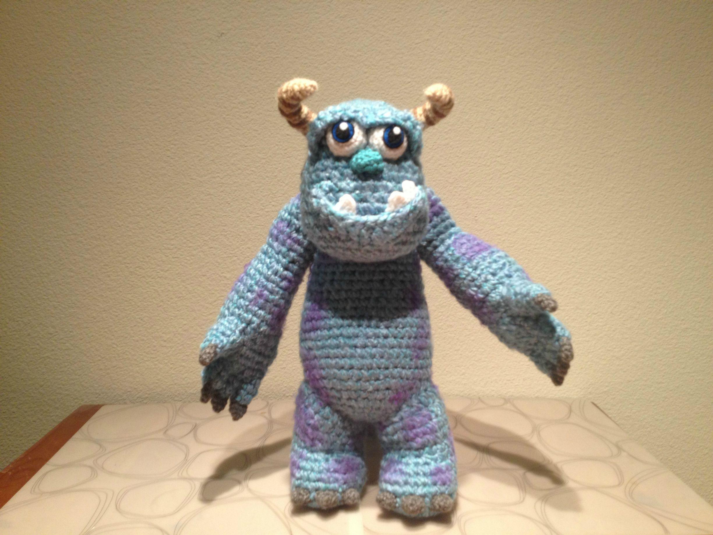 Amigurumi Monsters Inc : Sully sully monstersinc monstruos amigurumi crochet