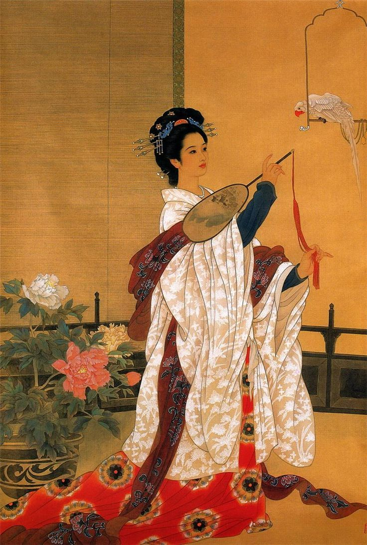 Pinturas Geisha Pin By Boulanger Chic On Art Pintura China Pinturas Geisha