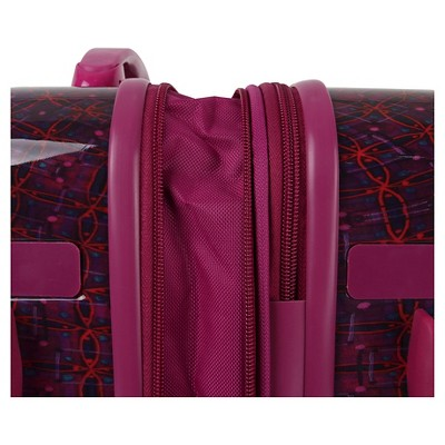 866a23c22700 J World Taqoo Polycarbonate Carry On Art Suitcase - Dusk | Products ...