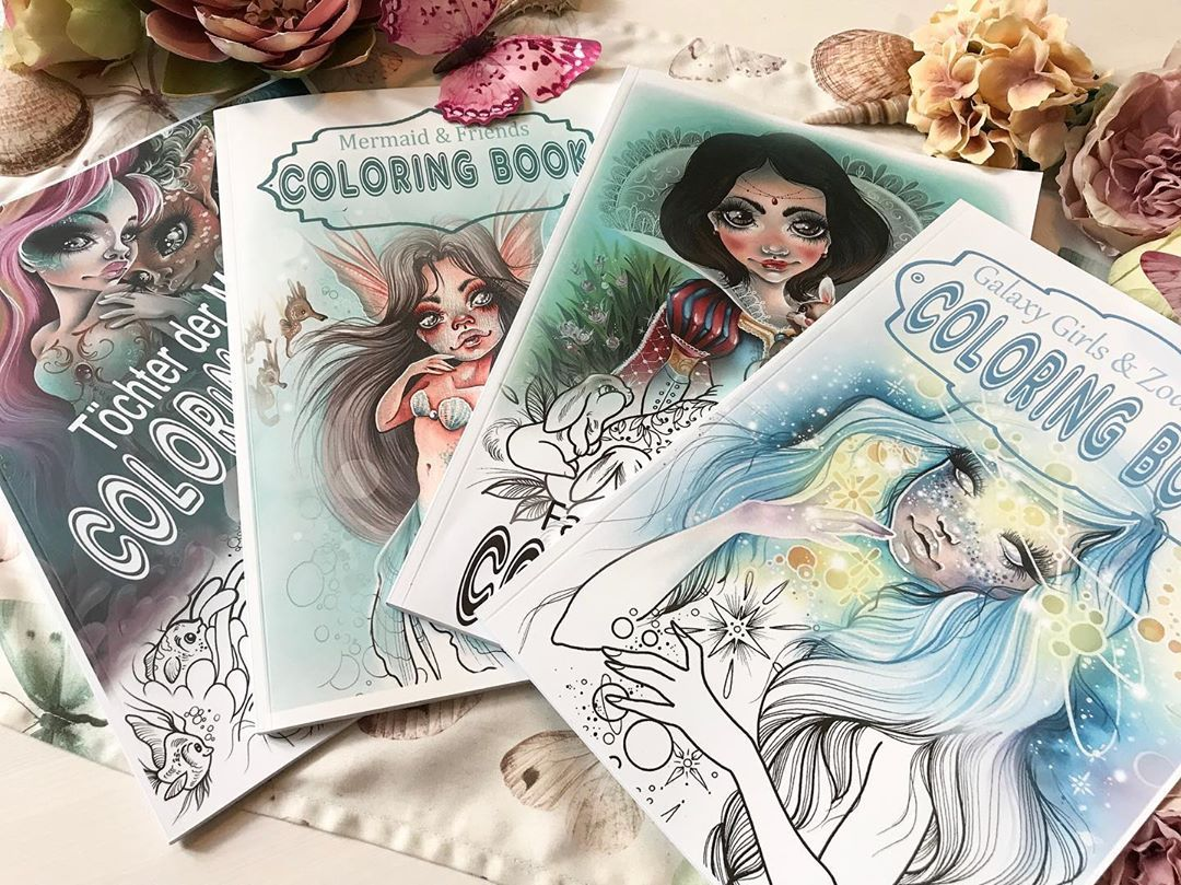 Christin Gloriousink On Instagram All My Coloring Books Prints And Much More With The Coupon Code Mystic15 Is Still A Great Coloring Books Prints Color
