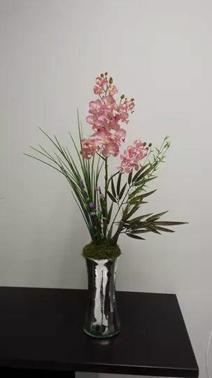 Arreglos florales artificiales con dise os en estilo for Plantas decorativas artificiales df