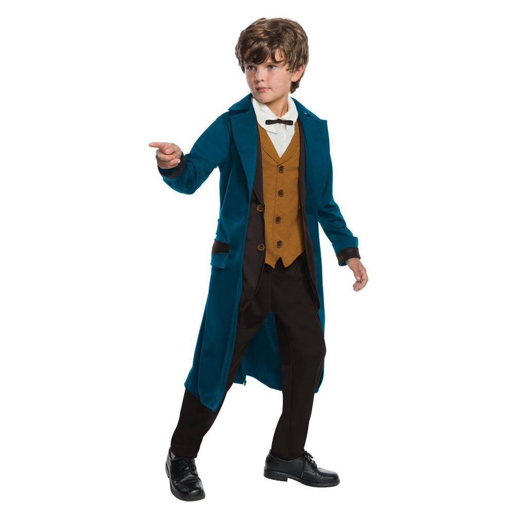 Child Official NEWT SCAMANDER Fantastic Beasts Boys Fancy Dress Costume Outfit