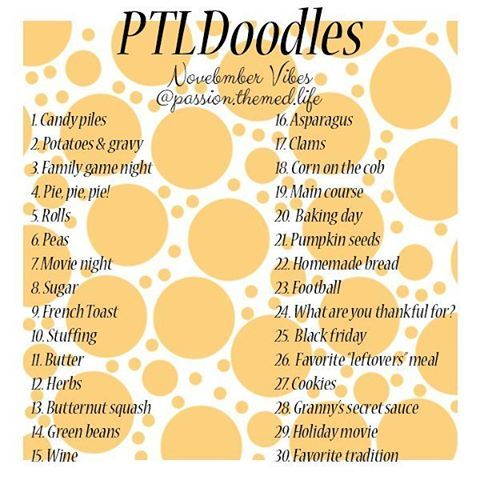 #ptldoodles November vibes...  :) this marks a full 12 months of ptldoodle challenges! Should i continue? Or leave it here and not risk repeating any of the challenges?