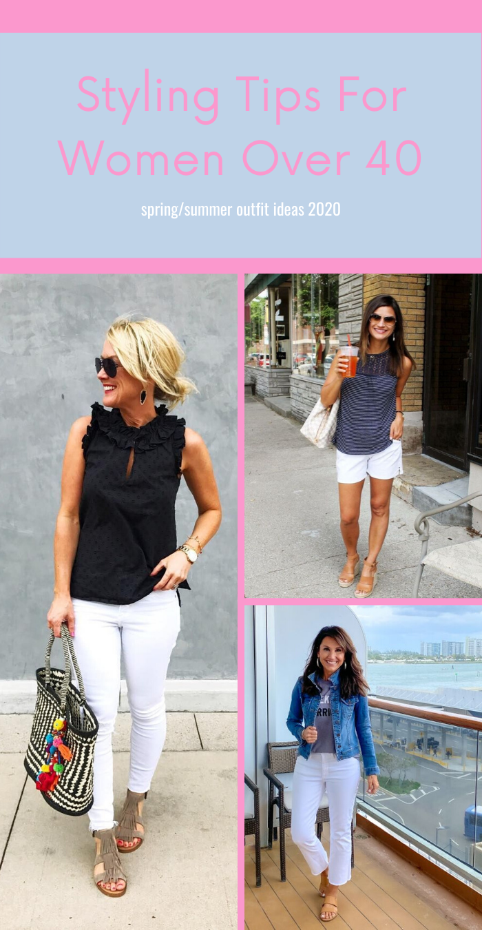 Summer Spring Casual Outfits For 50 Year Old Woman 2020 Summer Outfits Women Over 40 Summer Outfits Women Clothes For Women Over 40 [ 1350 x 700 Pixel ]