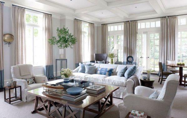 wohnzimmergardinen und vorh nge richtig ausw hlen home pinterest wohnzimmer wohnzimmer. Black Bedroom Furniture Sets. Home Design Ideas