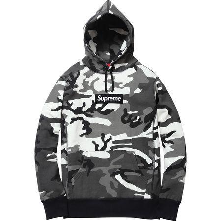3c5974502f44 Supreme Box Logo Pullover (Snow Camo)  148