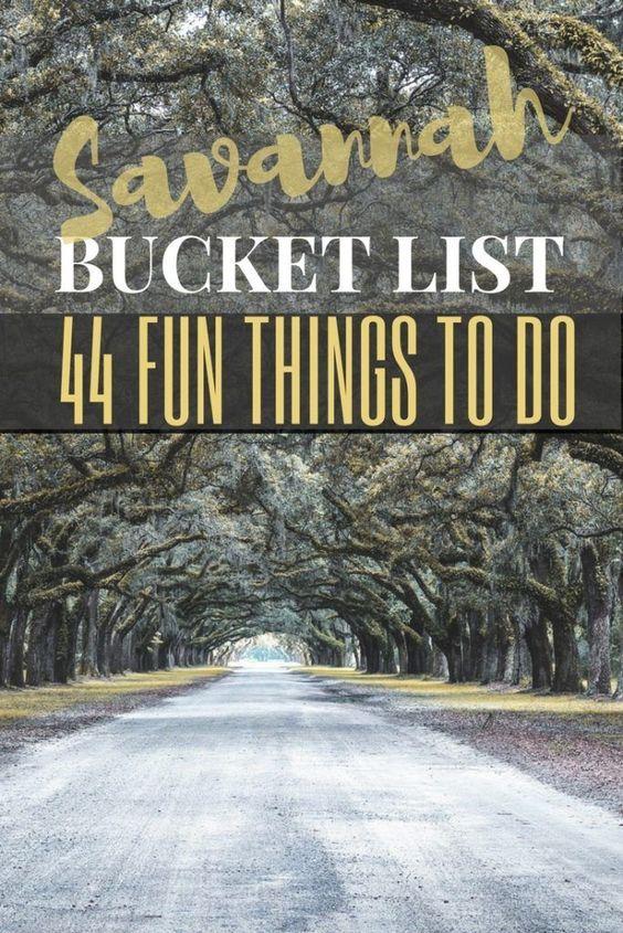 Savannah Bucket List: 44 Fun Things To Georgia's Historic City