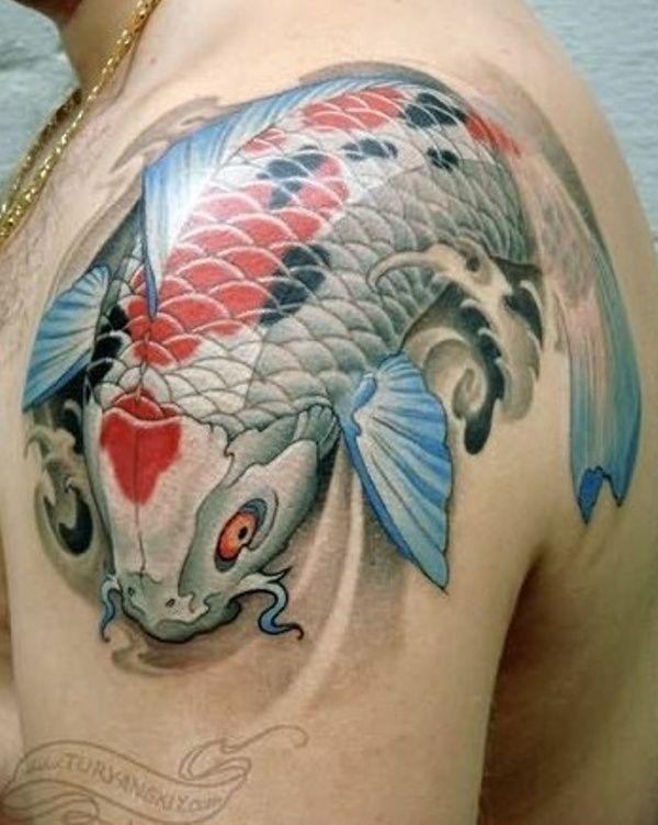 Best Tattoo Designs For Men On Shoulder Koi Fish Tattoo Japanese Koi Fish Tattoo Koi Tattoo