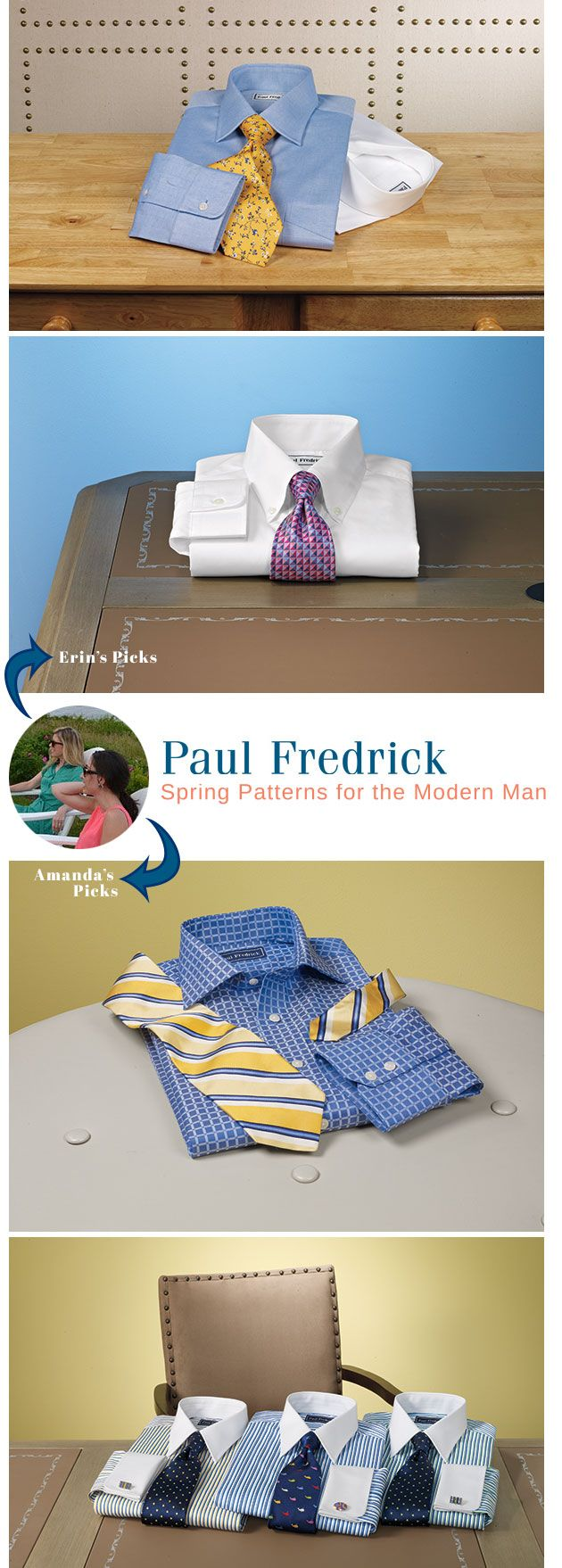 The Paul Frederick's 2014 Spring Shirt Line | Our Top Picks #mensfashion