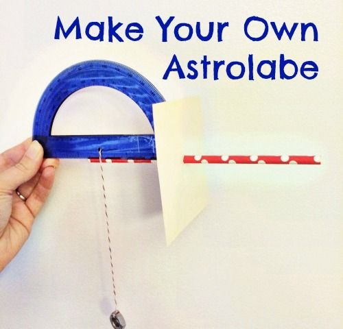 Make Your Own Astrolabe At Bedtime Math