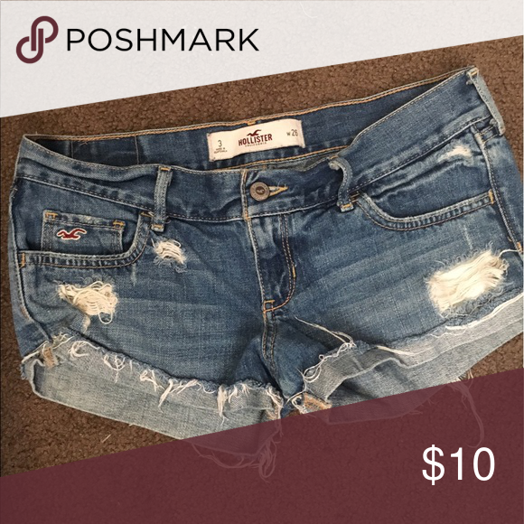 Shorts Hollister shorts. Size 3 Shorts Jean Shorts