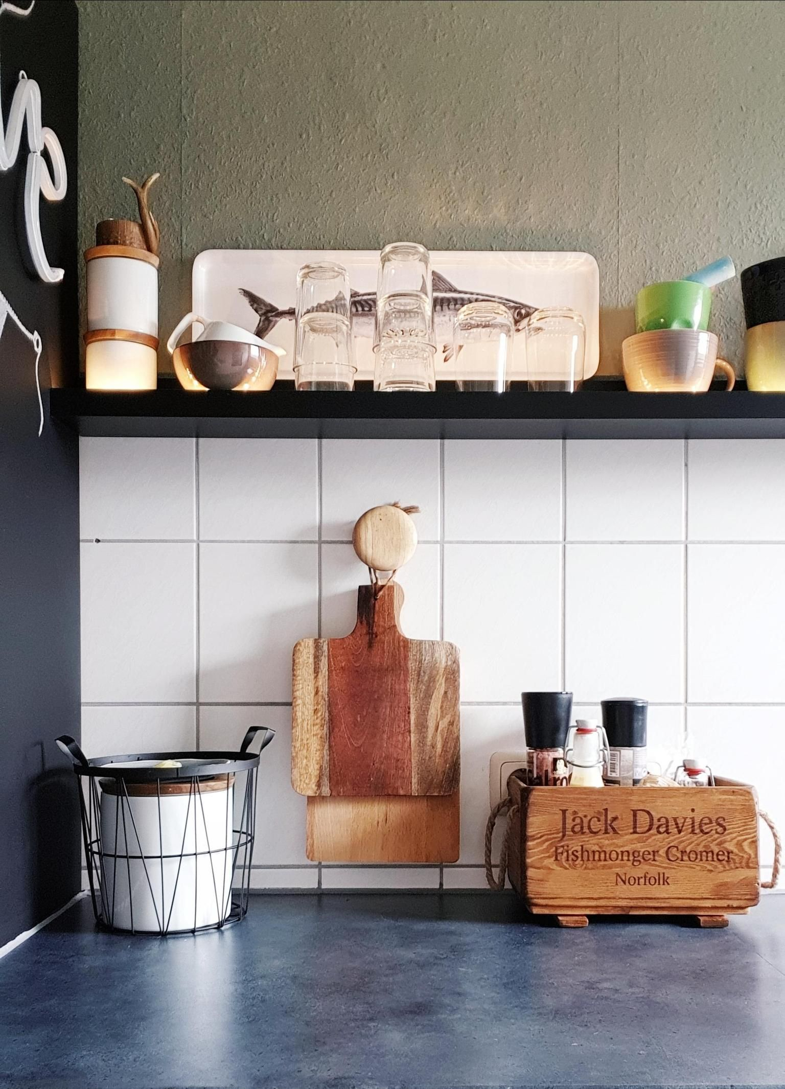 Auch Eine Kleine Kuche Kann Entzucken Das Beweist Unsere Community Immer Wieder Schaut Euch Hier Die Welt Von Solevita An Home Decor Floating Shelves