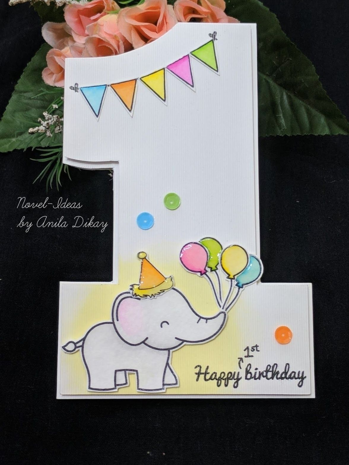 Printable Happy Birthday Card Download Birthday Card Download Floral Birthday Greeting Card 1st Birthday Cards Birthday Card Drawing First Birthday Cards
