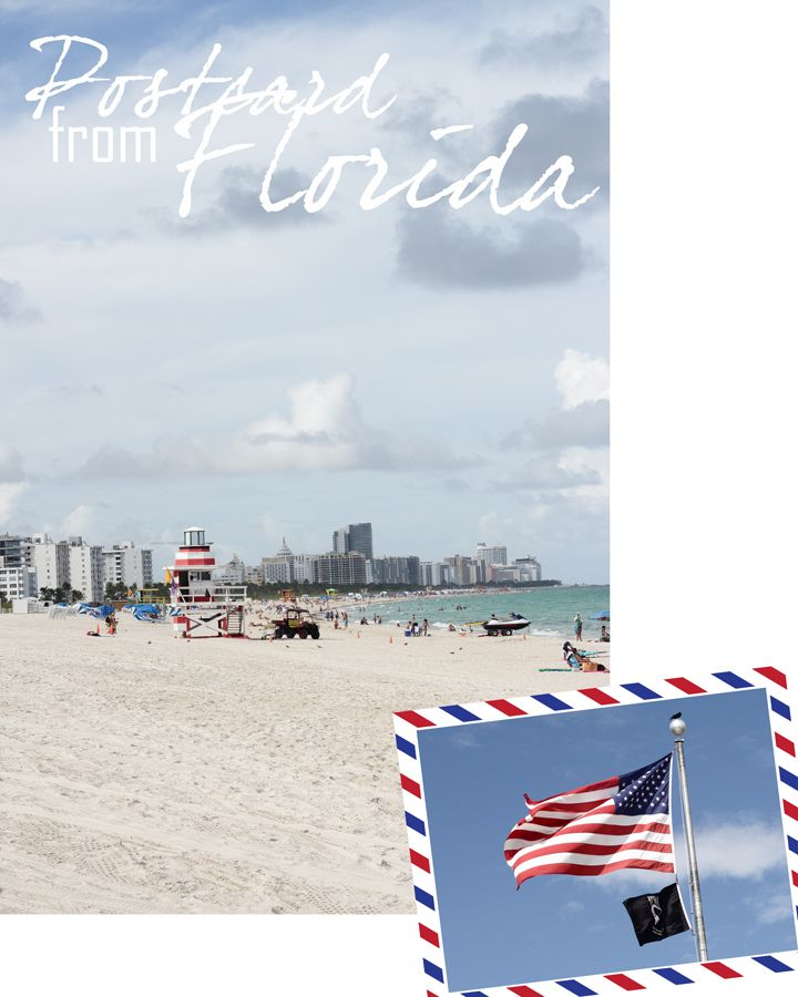 Florida | USA | America | Sunshine State | Miami | Miami Beach | Beach | Strand | Travel | Travelblogger | USA flag