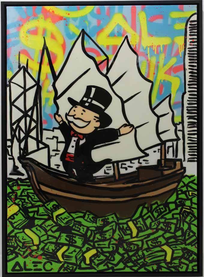 Alec Monopoly Street Art Hip Hop Art Graffiti