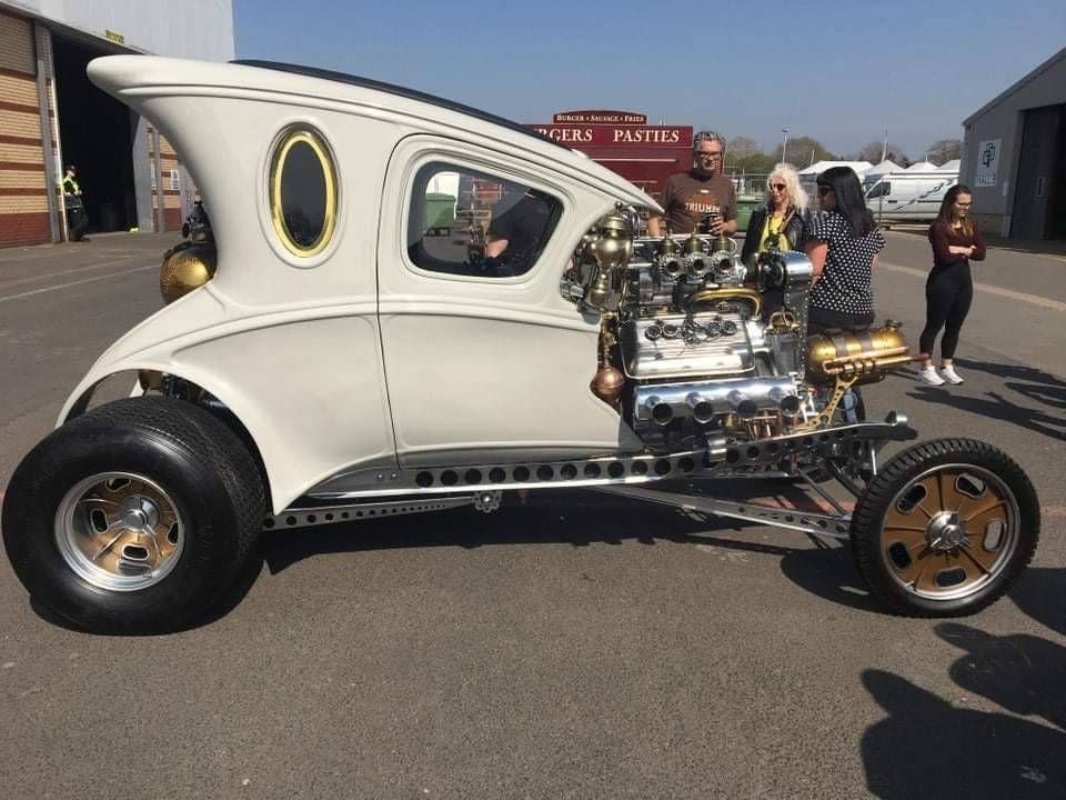 whitesol: whitesol: Hot Rod Kustomblr Kustom Kulture vintage car ...