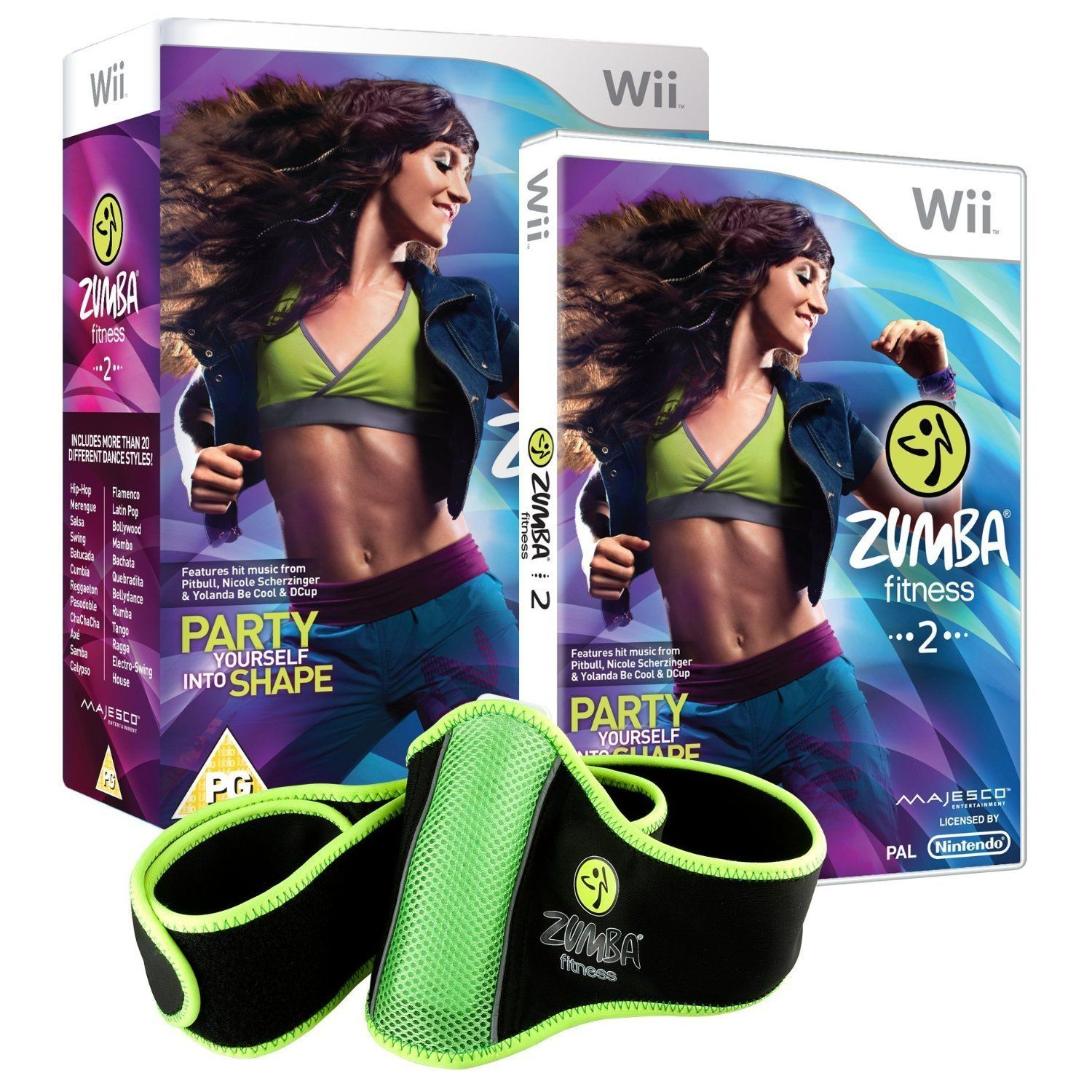 Zumba for Wii - great alternative for a gym course http://amzn.to/1lFINKF