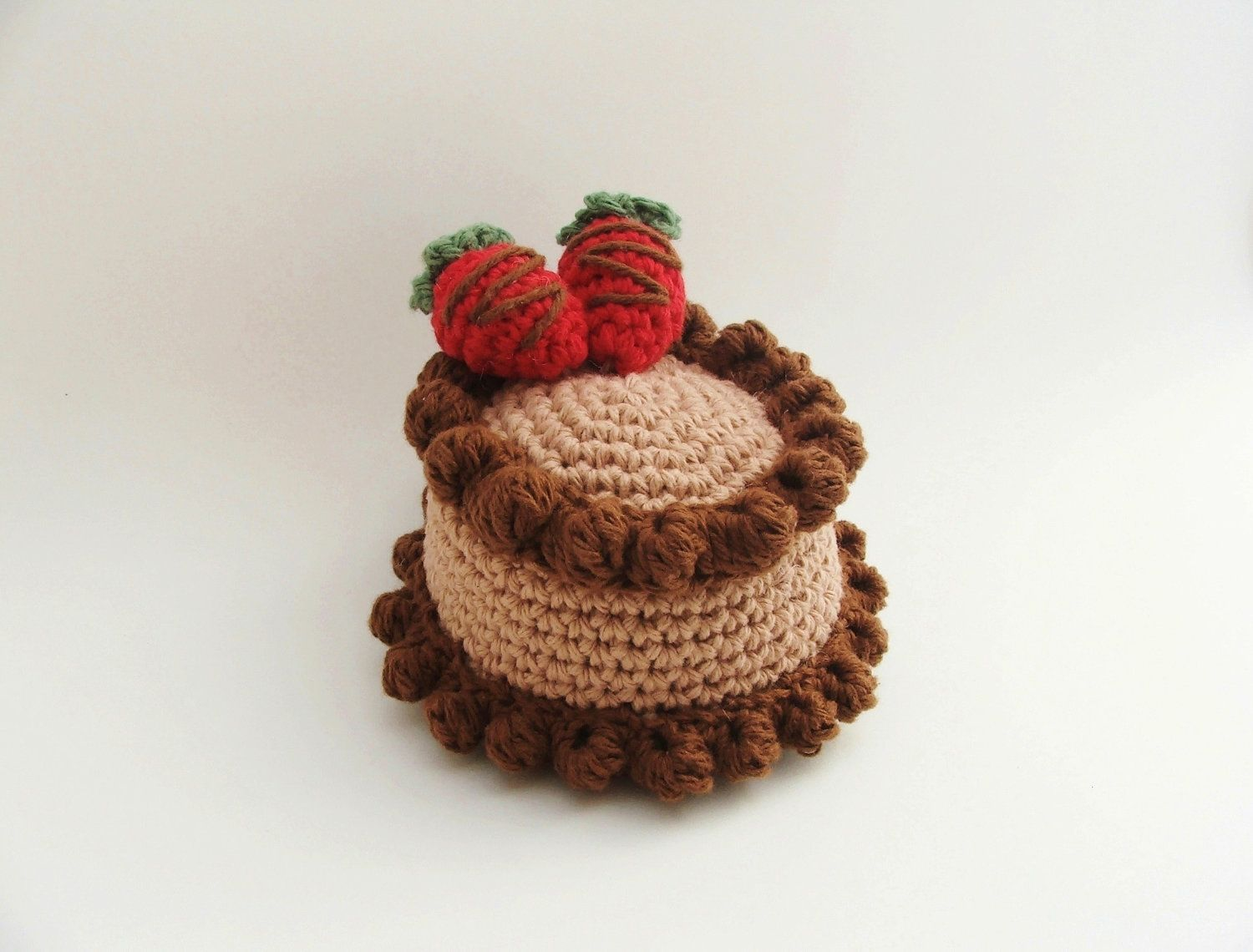 Easter gifts crochet cake amigurumi cake crochet food items similar to easter gifts crochet cake amigurumi cake crochet food chocolate cake amigurumi food birthday cake knitted food pet toys on negle Gallery