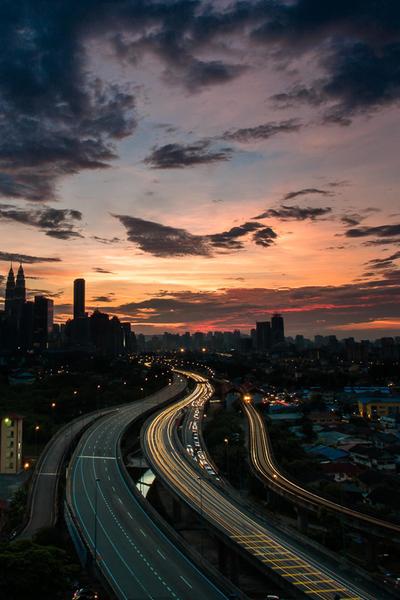 Photography KL City View By Nasir Zehni Via