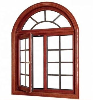 New Simple Iron Window Grill Design Arched Double Glazed ...