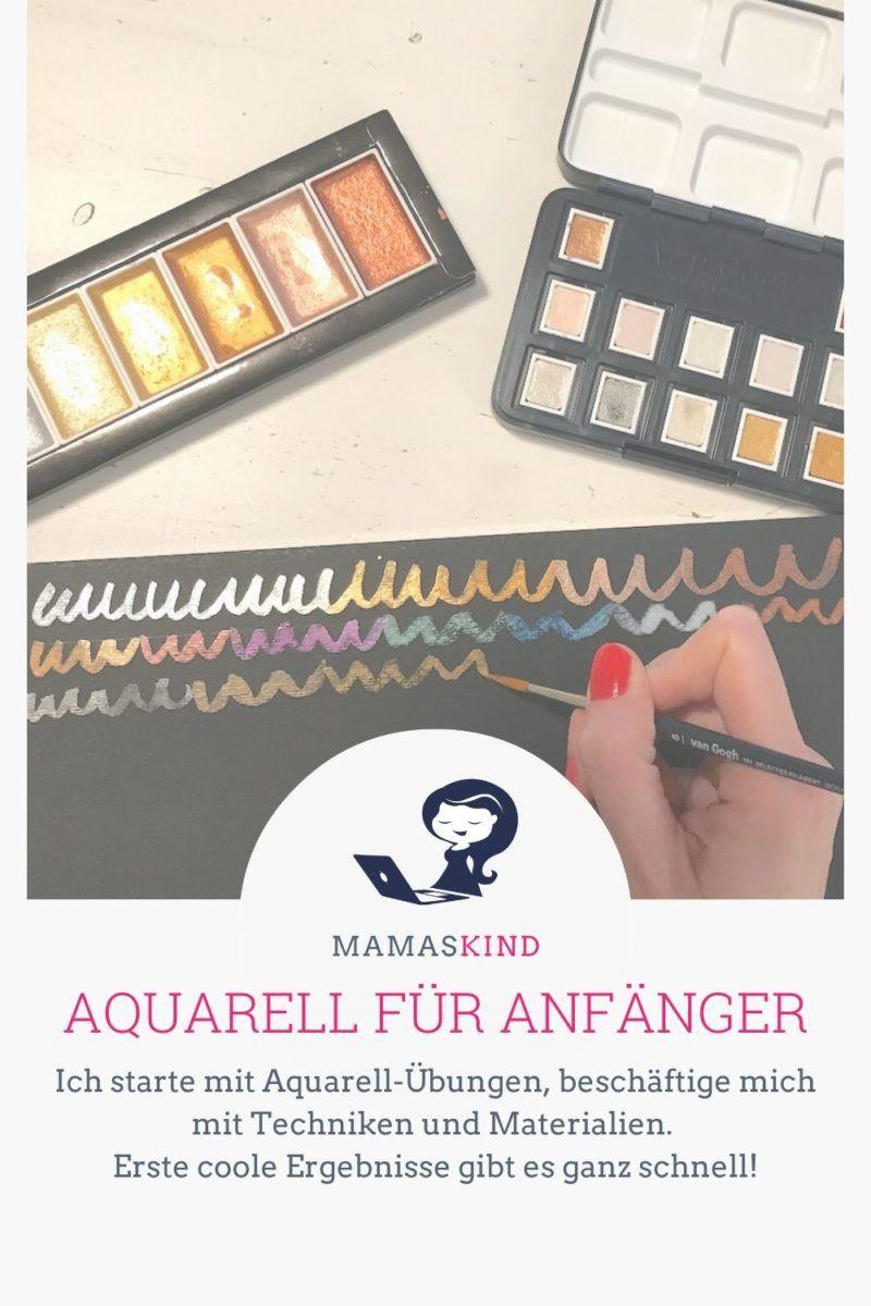 Aquarell für Anfänger: Übungen & Grundausstattung & Grundausstattung - Mamaskind