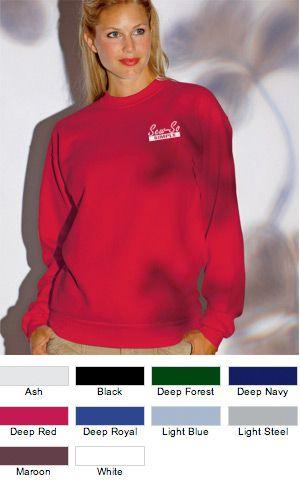 EZ Corporate Clothing Embroidered Hanes Crewneck $16.20