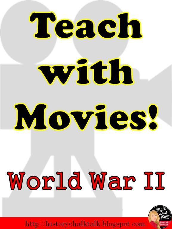 34566f69cc7ed7 Check out this BLOG post that includes a list of movies related to World  War II that you can give to your students to watch for extra credit. Pin it  now!