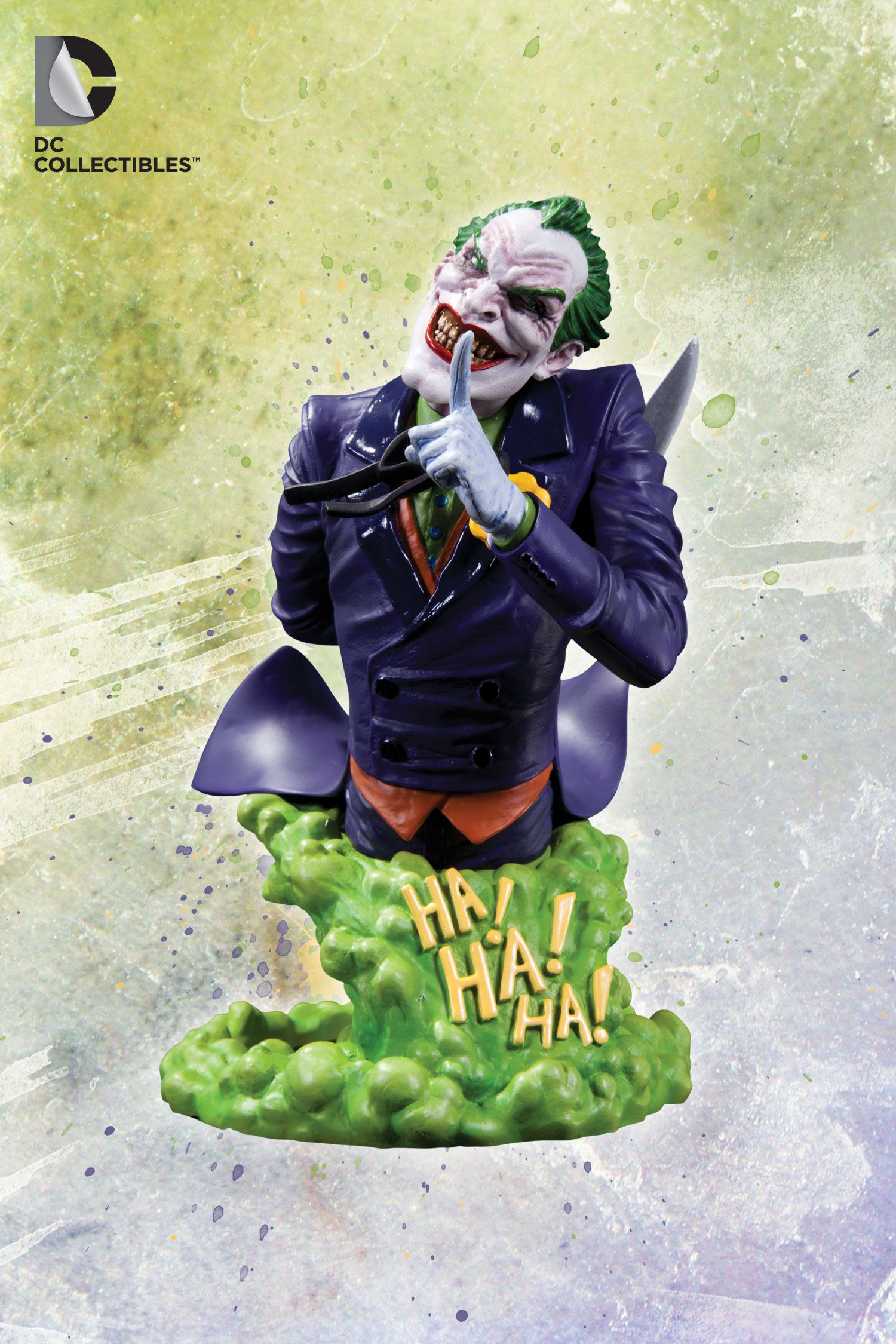 [DC COLLECTIBLES] DC Comics Super Villains: The Joker Bust
