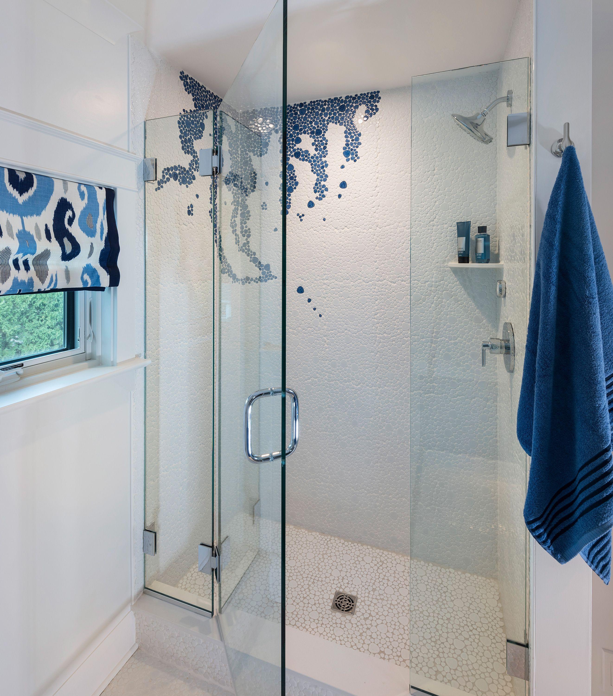 2018 Idea House White Tiles House Beds Shower Panels
