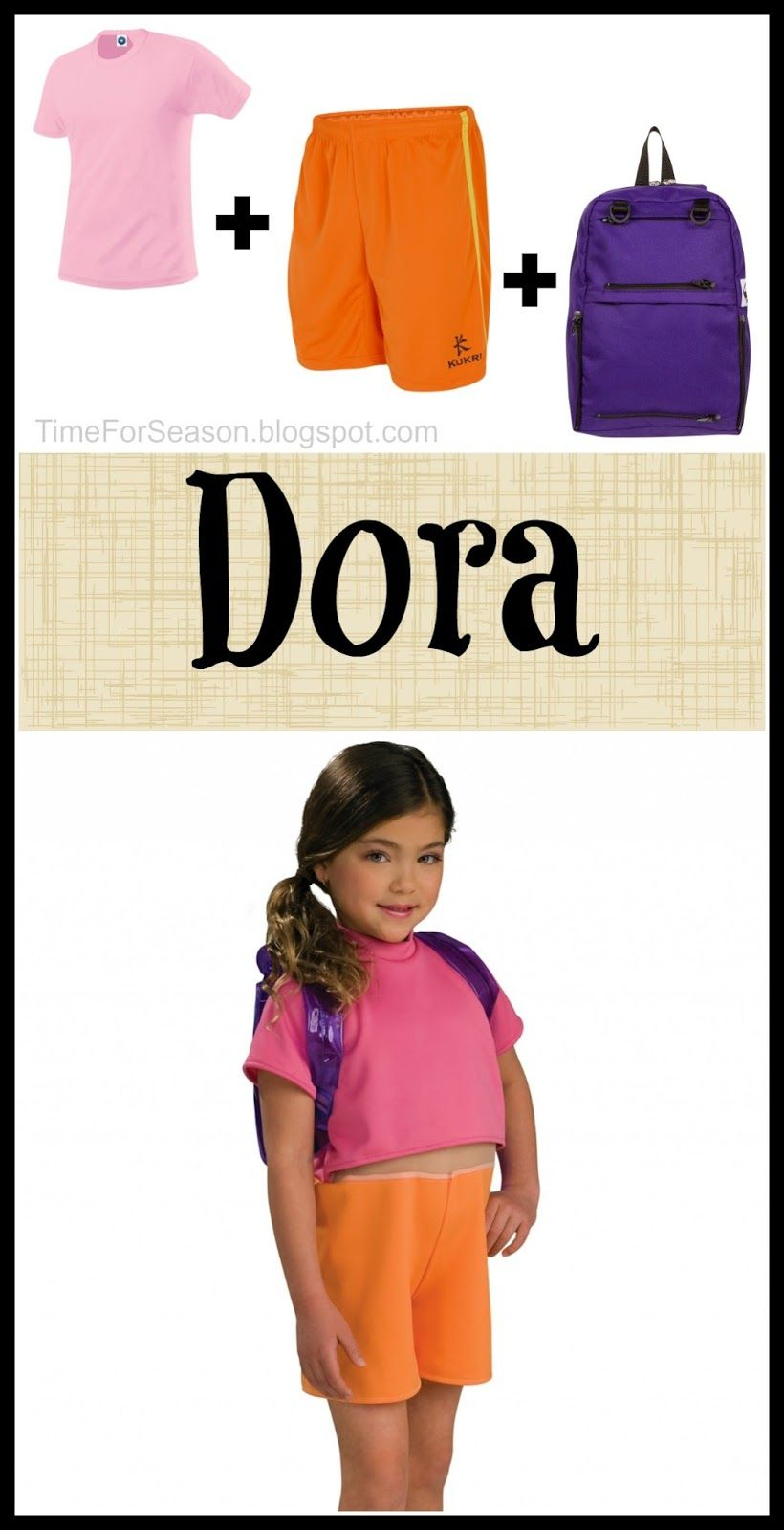 Easy Dora Costume: 18 Costumes You Already Have In Your Closet ...