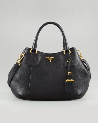 ad29d51da788 Daino Medium Shoulder Tote Bag Black (Nero) | My wish list | Prada ...