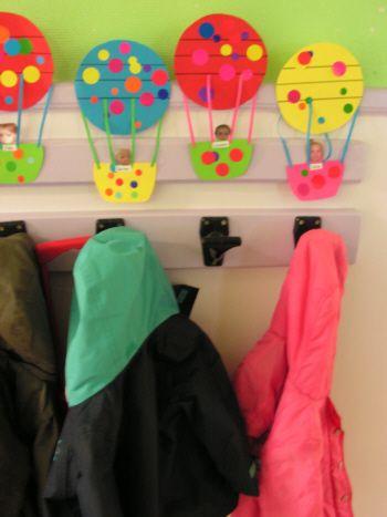 montgolfiere etiquette porte manteau