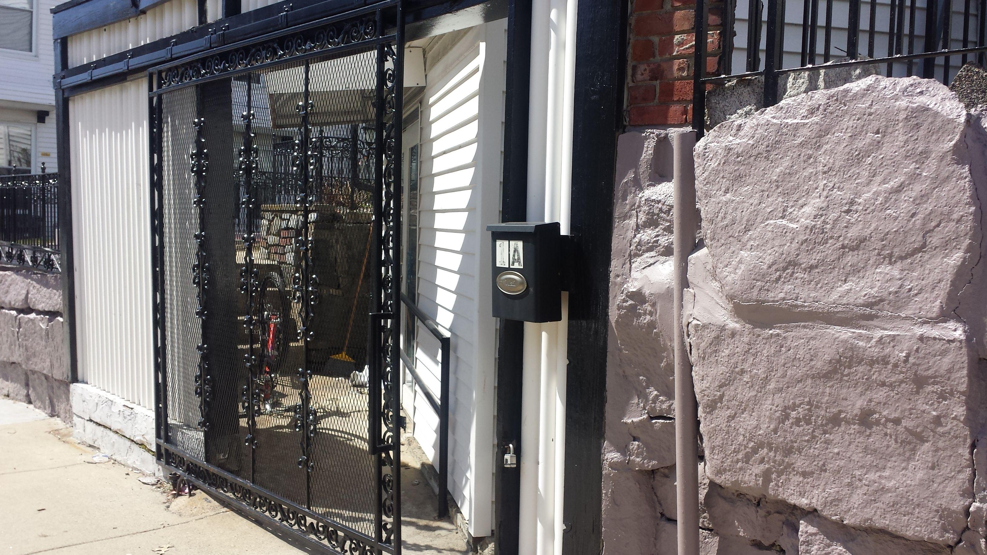 Wrought Iron Fence Back Door Wrought Iron Fences Iron Fence Back Doors