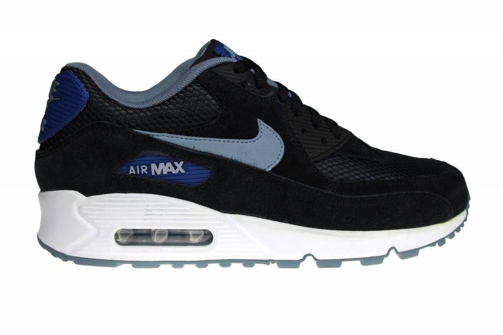 nike air max 90 wit zwart blauw