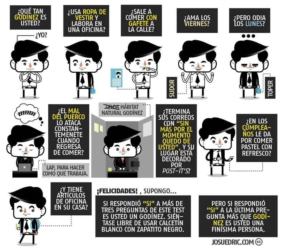 Qué tan Godínez eres? #FuerzaGodinez http://www.twitter.com/FuerzaGodinez