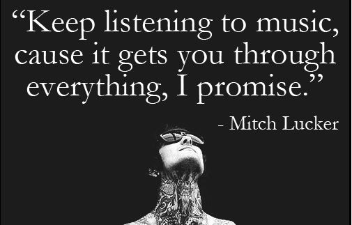 Poems By Raelyn Faith: RIP Mitch Lucker