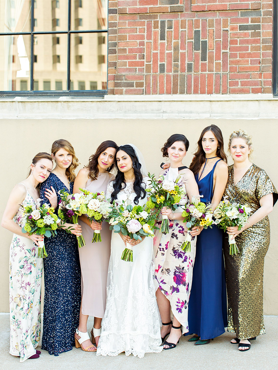 943822a9e64 The Best Mismatched Bridesmaid Dresses to Make Your Ladies Stand Out ...