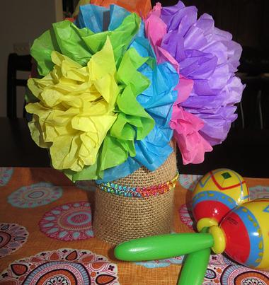how to: fiesta centerpiece www.itsapartyfullife.com