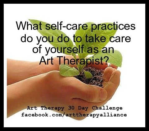 Art therapy 30 day challenge day 10 what self care practices do you art therapy 30 day challenge day what self care practices do you do to take care of yourself as an art therapist solutioingenieria Image collections