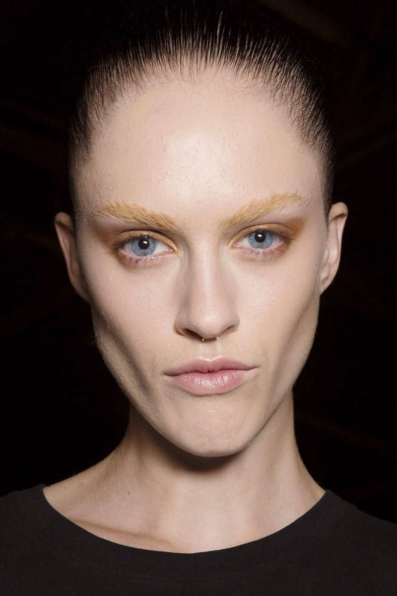The 21 Best Eyebrows at New York Fashion Week | Best ...