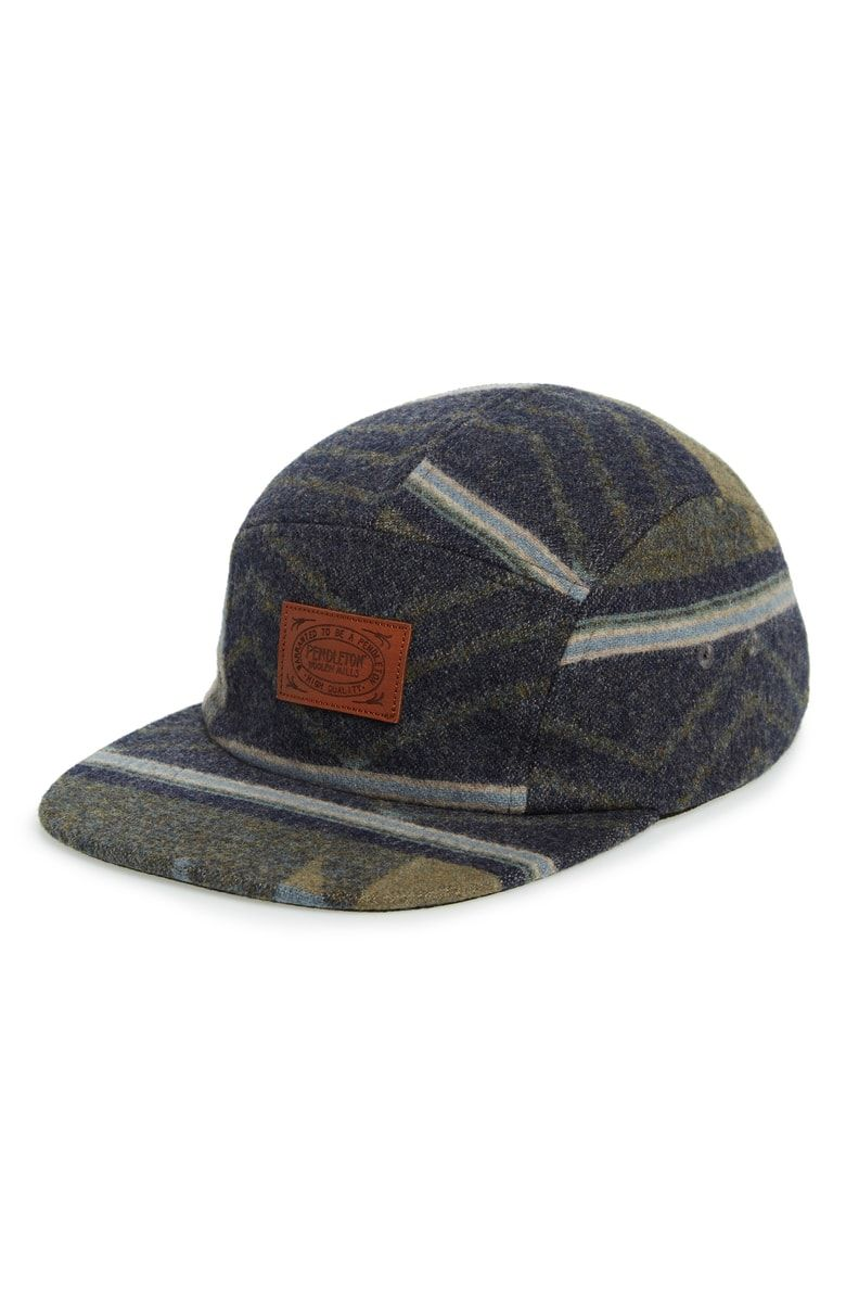 Jacquard Baseball Cap PENDLETON Price 54.50Free Shipping A Pendleton  leather logo patch is front and center on this warm wool jacquard ball cap. 53783875b16