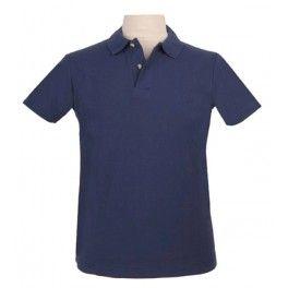 Polo homme -Stedman-bleu